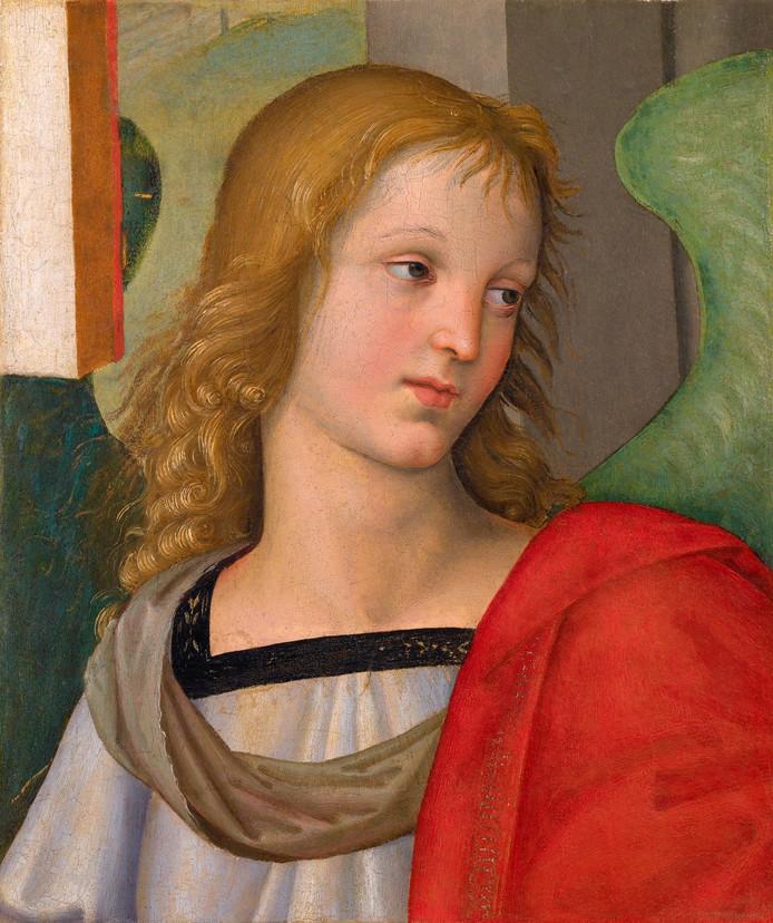 Het schilderij 'Engel' van Rafaël komt naar Enschede.