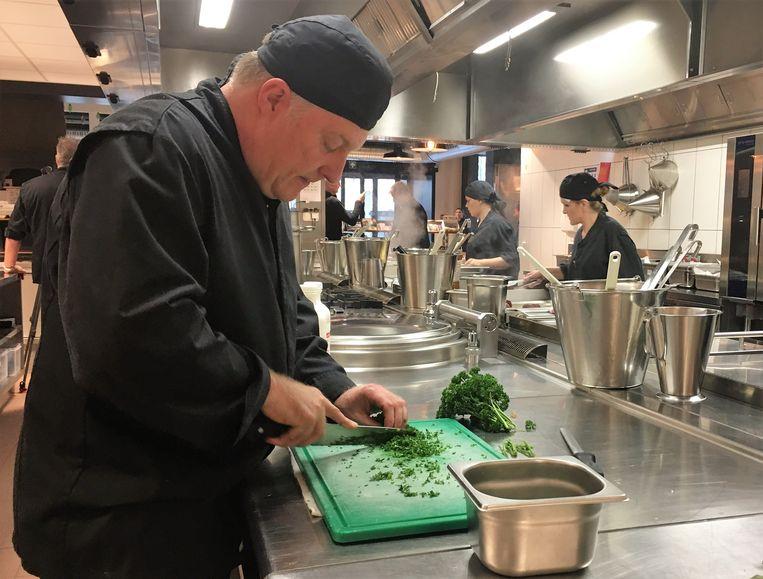 VORK is ook een centrum waar keukenpersoneel opgeleid wordt.