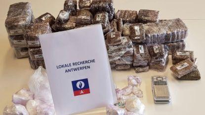 Acht verdachten met 20 kg hasj opgepakt bij oprollen van drugsbende in Antwerpen