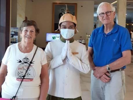 Dit stel uit Gelderland zit vast op 'corona-schip' in Cambodja: 'Kan nog wel week duren'