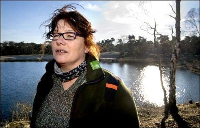 Boswachter Sonja Vreijenhoek: 'Nu kan de natuur zestien jaar haar gang gaan.'