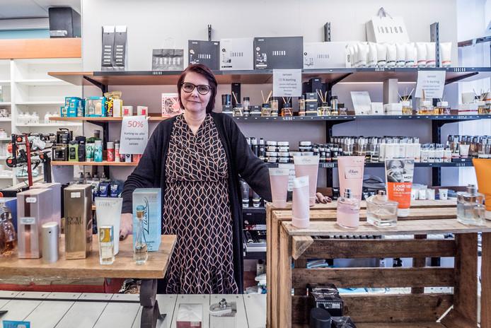 Marina van der Sar is haar winkel.