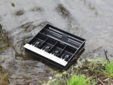 Geldlade teruggevonden na inbraak in tuincentrum Kerkwijk