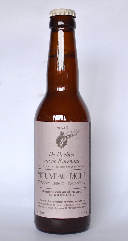 Nouveau Riche is een heerlijk witbier van Dochter van de Korenaar. Beeld