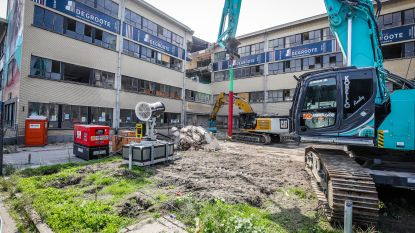 Afbraak hotelschool begonnen, bouw eerste Sky 