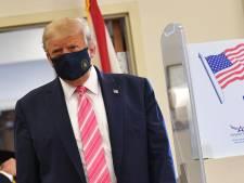 """Donald Trump a voté par anticipation, """"pour un type appelé Trump"""""""