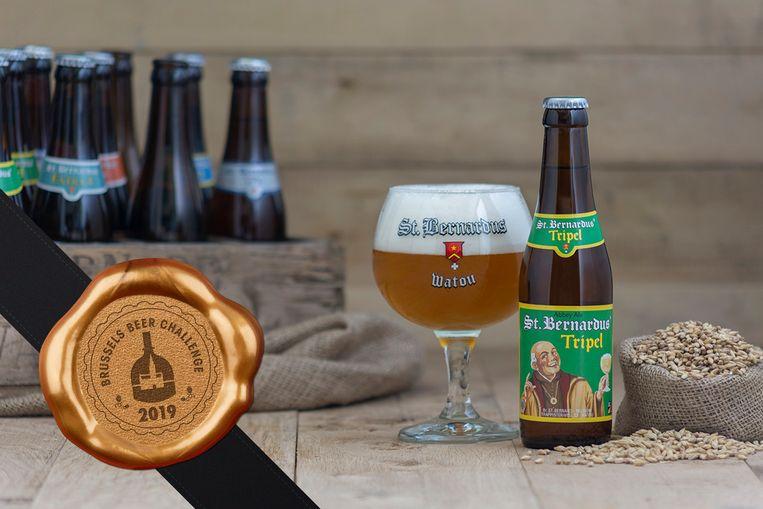 Opnieuw gouden medaille voor St.Bernardus Tripel op Brussels Beer Challenge