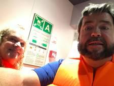 Rodney en Judy gered van Noors cruiseschip: Een golf kwam binnen en sleurde ons mee
