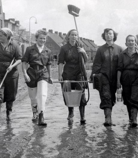 De schoonmaakploeg in de zomer van 1953: Iedereen was overdonderd door de ellende in Kruiningen