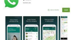 Nepversie WhatsApp voor Android meer dan een miljoen keer gedownload