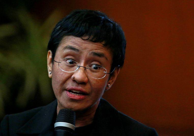 De Filipijnse journaliste Maria Ressa.