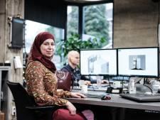 Syrische vluchtelinge Afaf ontwerpt producten bij Doetinchemse groothandel Rensa: de perfecte match