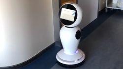 Coronapatiënten krijgen hulp van robot in ZNA Middelheim