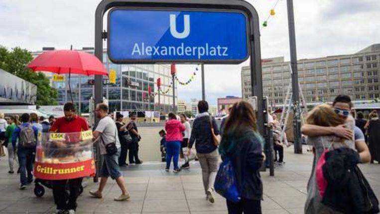 Alexanderplatz in centrum Berlijn
