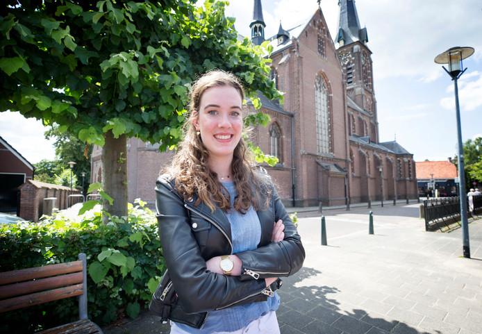 Femke Verbunt uit Bavel vindt Bavel geen saaie woonplaats, ondanks dat er minder te doen is dan in bijvoorbeeld Breda.