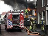 Grote brand Woerden vermoedelijk door sloopwerkzaamheden