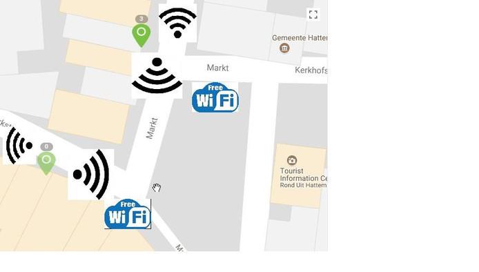 De eerste pilot voor gratis wifi in Hattem werd afgelopen voorjaar gehouden.