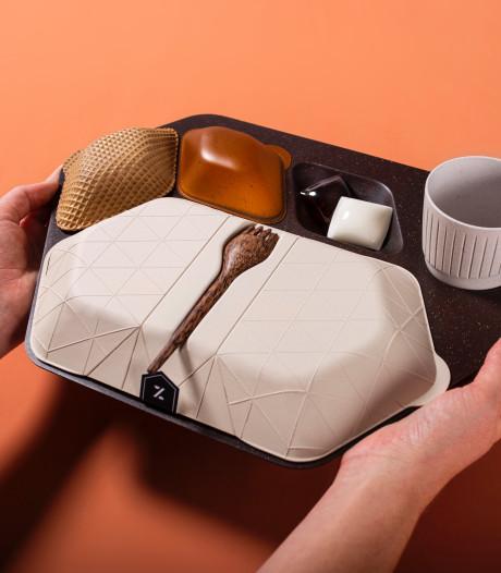 Le plateau-repas biodégradable qui pourrait révolutionner les voyages en avion