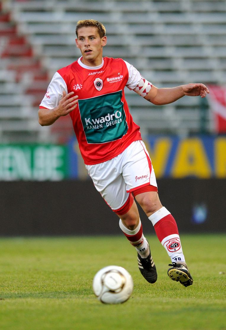Oris in 2012 bij Antwerp.