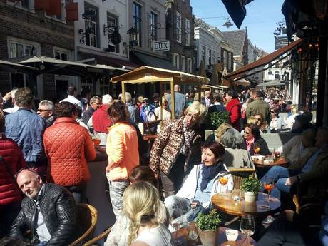 Den Bosch komt top 3 van duurste terrassteden binnen