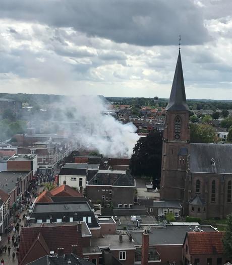 Winkels in centrum Winterswijk gesloten door brand