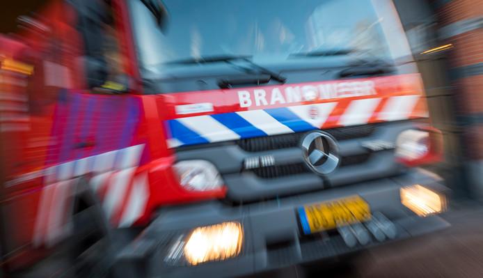 De brandweer. (Archieffoto.)