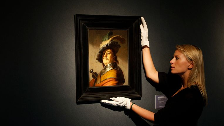 Het geveilde werk van Rembrandt. Beeld EPA