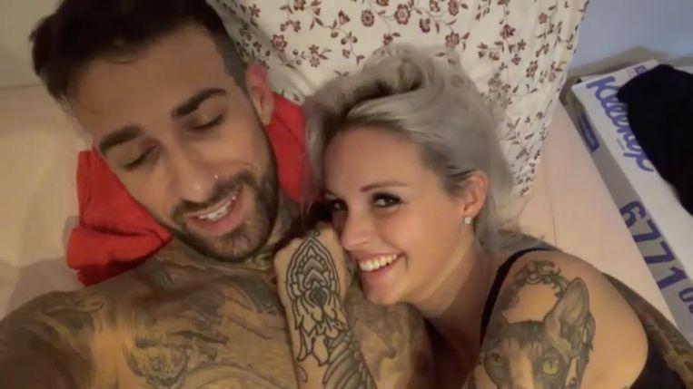 Fabrizio en Pommeline in 'Sex Tape'.
