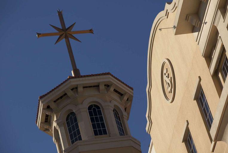 Het hoofdkwartier van de scientologykerk in Clearwater, Florida. Beeld ANP