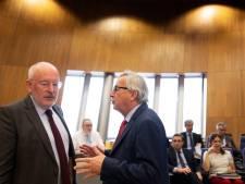 Nagelbijten in Brussel: Wordt Timmermans de baas van Europa?