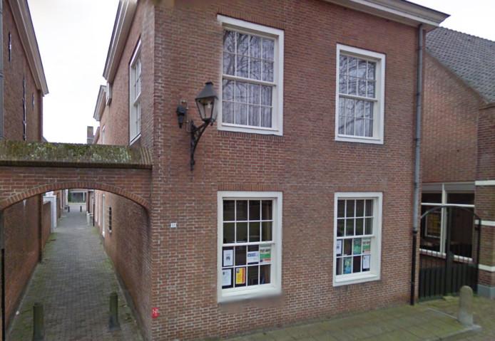 Het pand aan de Vrijthof 11 in Hilvarenbeek.