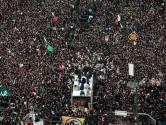 Honderdduizenden Iraniërs nemen afscheid van door VS gedode generaal Soleimani