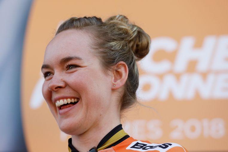 Anna van der Breggen. Beeld Anp