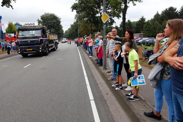 De Valkenswaardse Truckrun trok zaterdag weer door de Kempen.
