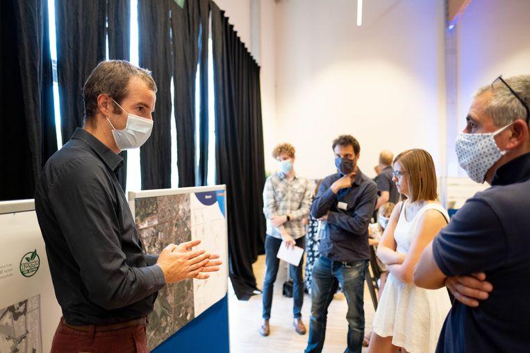 Infovergadering over de komst van Plopsaqua in Technopolis Mechelen