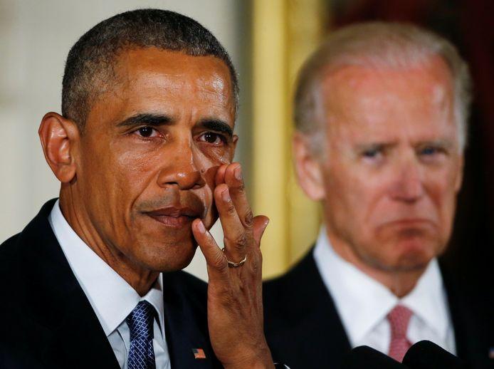 Barack Obama et Joe Biden.