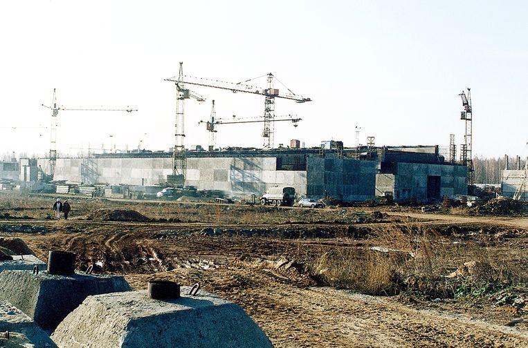 De Mayak-site in Rusland.