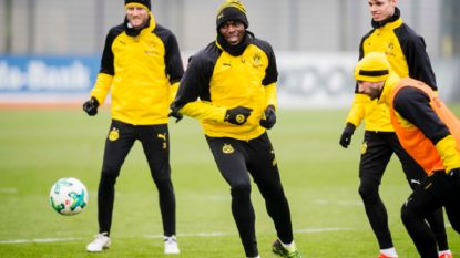 In beeld: Usain Bolt traint mee met Borussia Dortmund