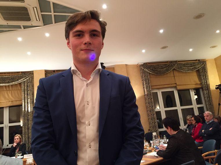 Baudouin Wolwertz  is het jongste lid van de gemeenteraad van Bilzen.