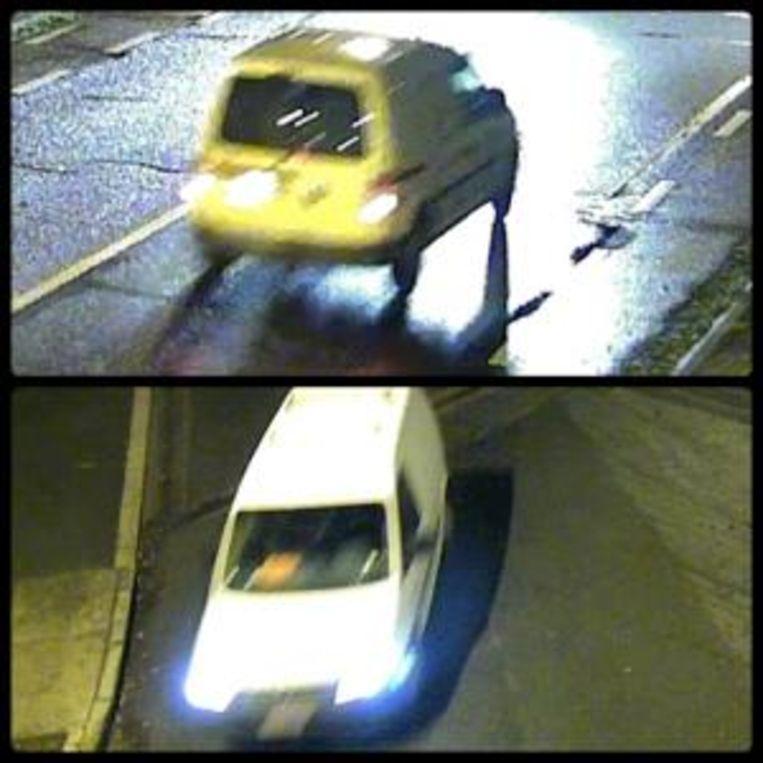 De politie is op zoek naar de bestuurder van deze bestelwagen na een dodelijk ongeval.