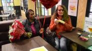 Valentijnsverrasing van formaat: Jamaicaanse reist voor het eerst naar hartsvriendin in België