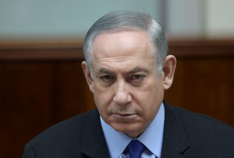 Israëlisch premier Benjamin Netanyahu.