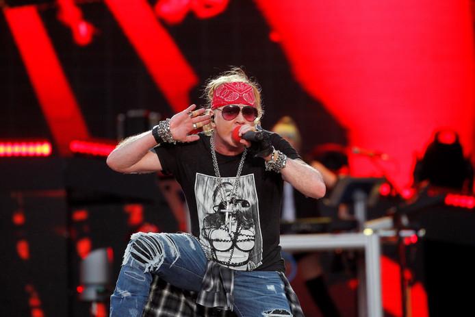 Axl Rose van Guns N' Roses
