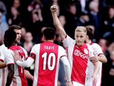 Goals, goals, goals.. Ajax nog altijd op schema voor meerdere records