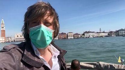 """Onze reporter Robin Ramaekers in Venetië: """"Nog nooit zo leeg als vandaag"""""""