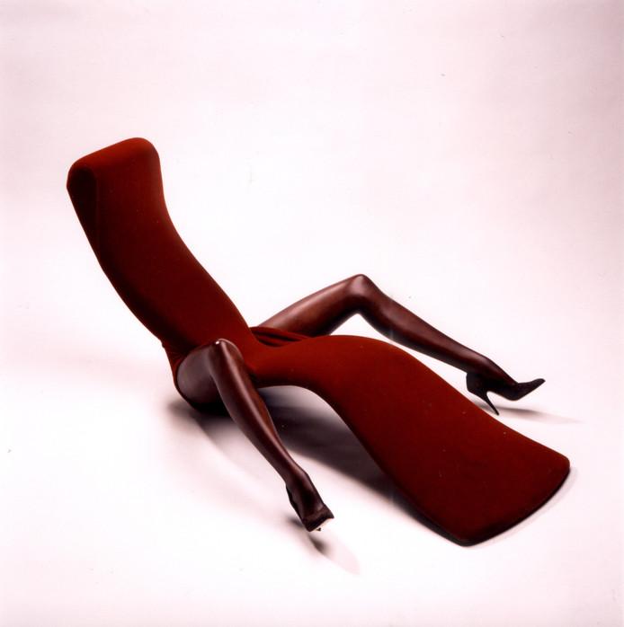 ''De Gastvrouw''. Dit bijzondere meubel van Ard de Block (en nog veel meer) is tot en met zondag ACEC te zien. eigen foto
