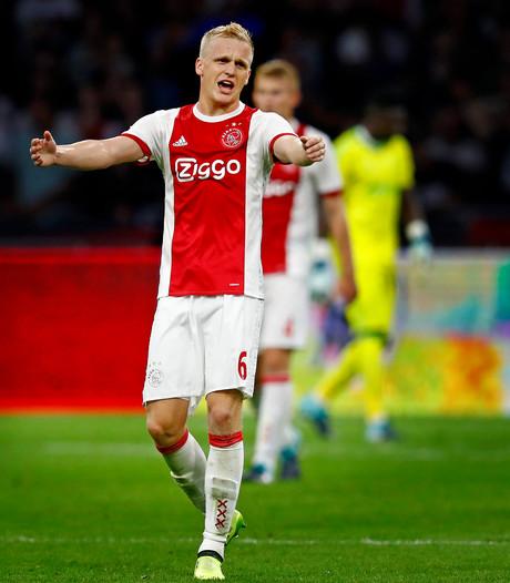 Van de Beek: Ook met deze selectie moeten we winnen van Rosenborg en Heracles