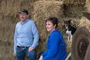 Erik van Oosterhout bestiert samen met zijn vrouw Lisette een veeteeltbedrijf en kaasmakerij in Made.