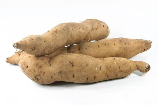 Bataat oftewel zoete aardappel