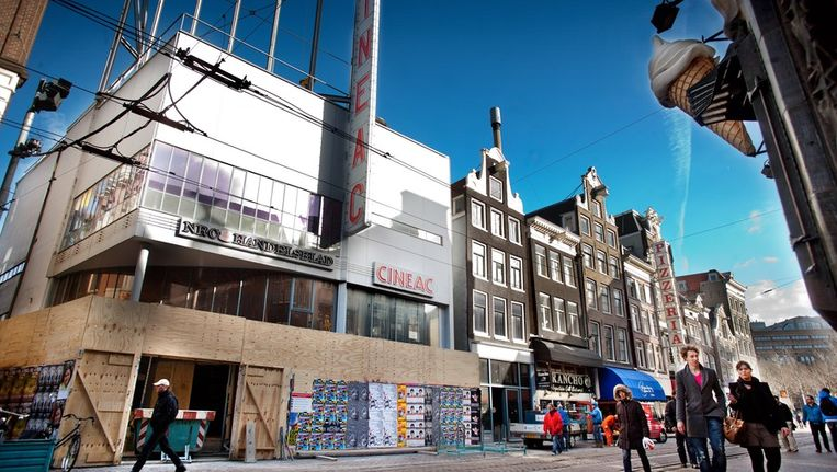 De Cineac in februari van dit jaar. © Klaas Fopma Beeld